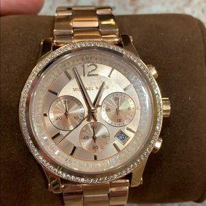 Michael Kors rose gold watch. BNWOT